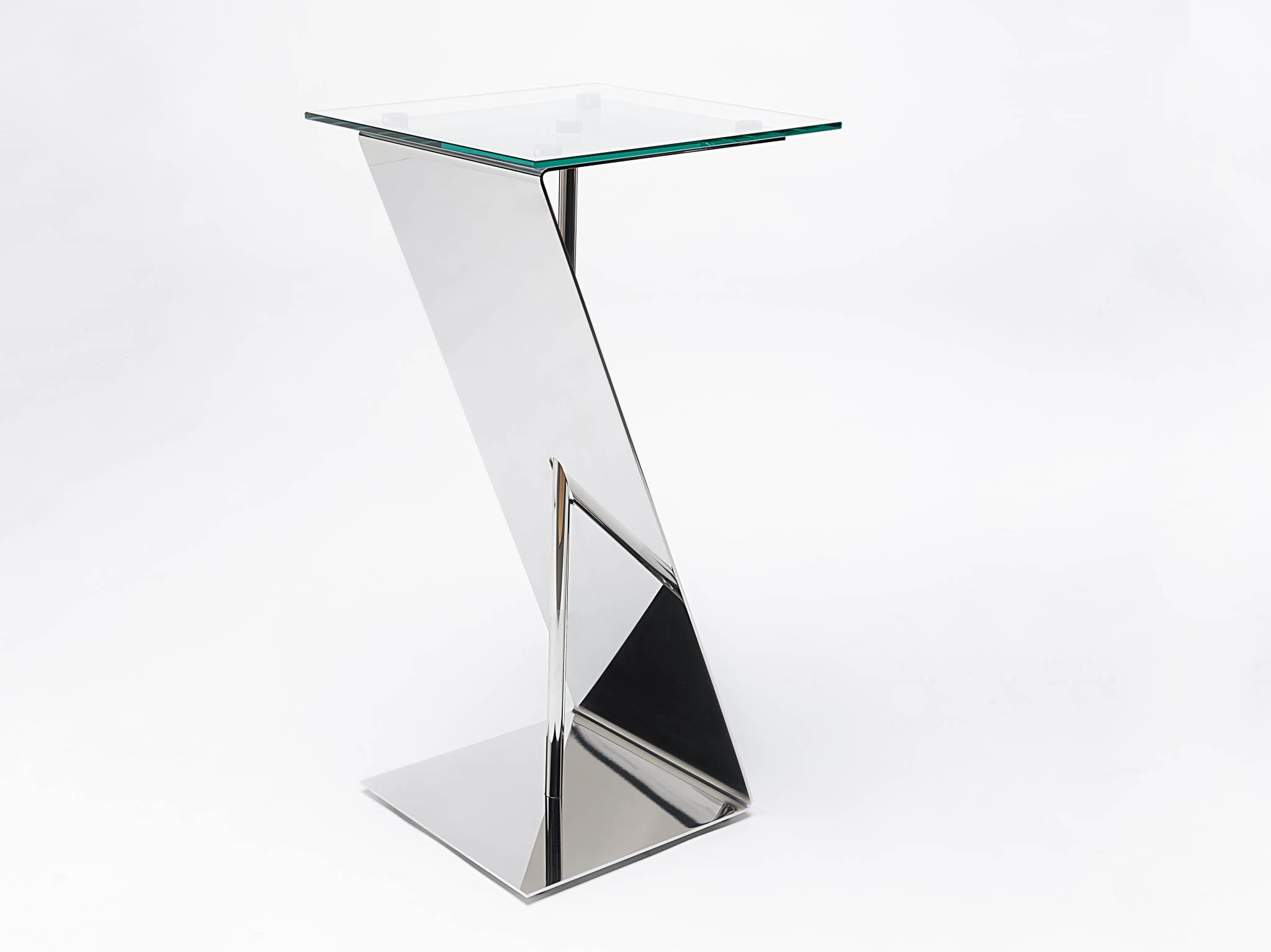mobilier inox design