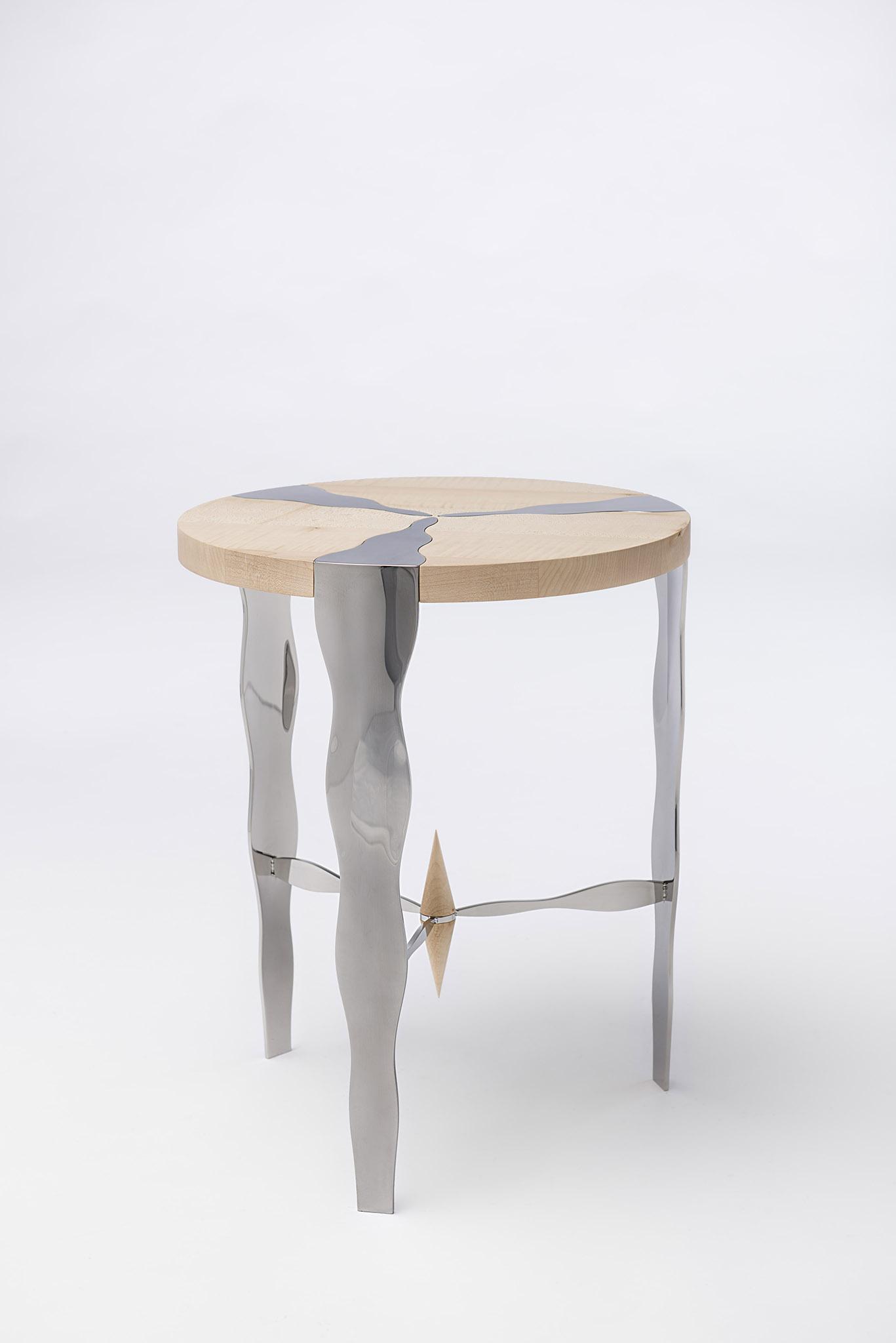 tables basses inox